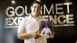 El ganador de Masterchef presenta su libro de recetas