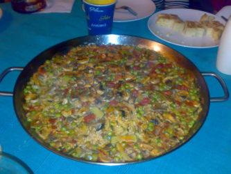 Paella gigante Gratis en Las Rozas de Madrid por San Miguel