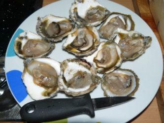 Cómo preparar y servir unas ostras