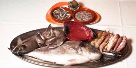 Pescado fresco y de calidad en el Restaurante El Caldero