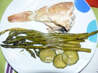 Receta de Cabras con verduras al horno en Lekue