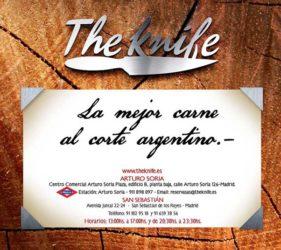 En The Knife no solo se destaca la calidad de sus cortes argentinos elaborados sobre la tradicional parrilla al carbón