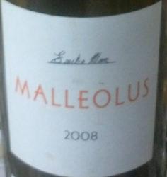 Vino Emilio Moro Malleolus 2008