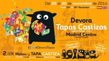 DEVORA TAPAS CASTIZAS 2014