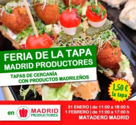1ª Feria de la Tapa de El Mercado Productores en Matadero Madrid